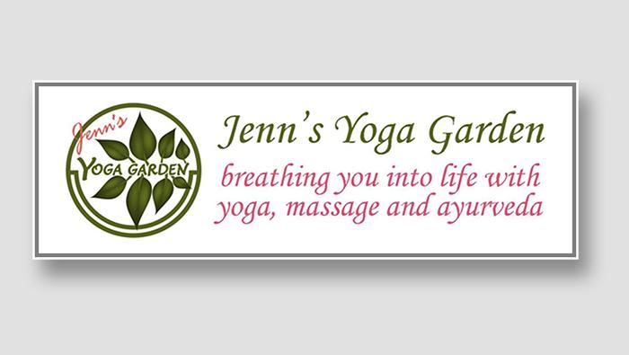 Jenn's Yoga Garden Logo