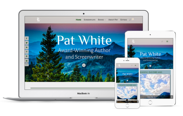 Pat White Writer Website