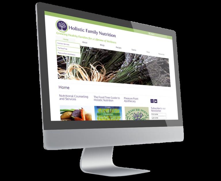 Holistic Family Nutrition Website