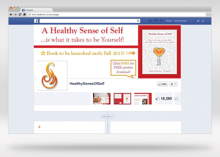 HealthySenseOfSelf Facebook Page