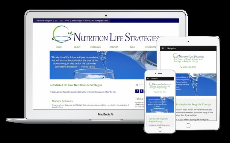 Nutrition Life Strategies Website