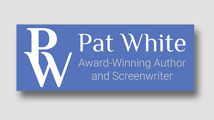 Pat White Writer Logo