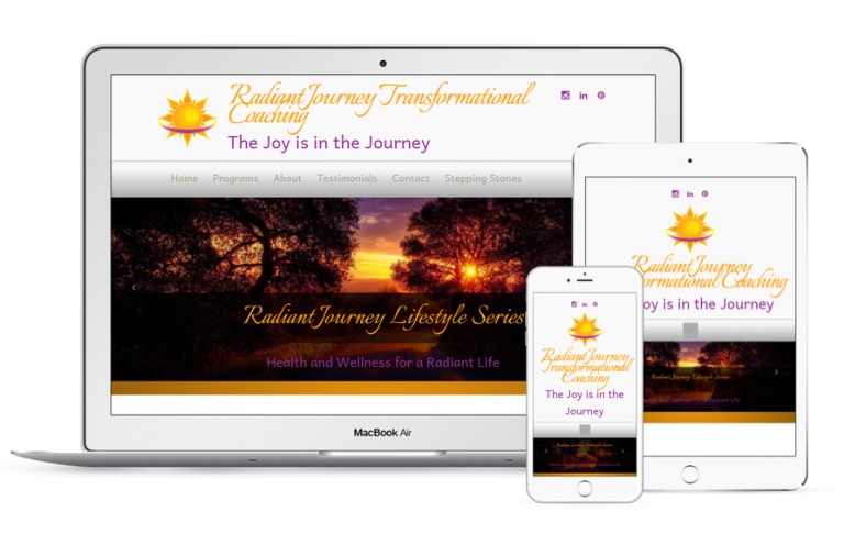 Radiant Journey Coaching Website