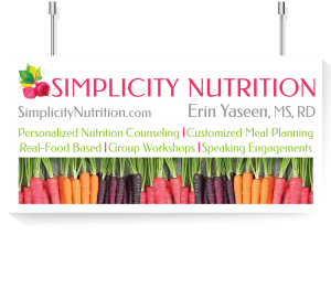 Simplicity Nutrition Banner