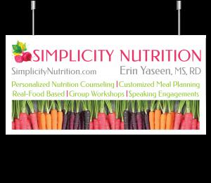 Simplicity Nutrition Banner