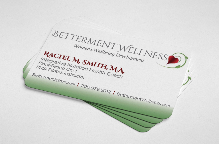 Betterment Wellness Business Cards