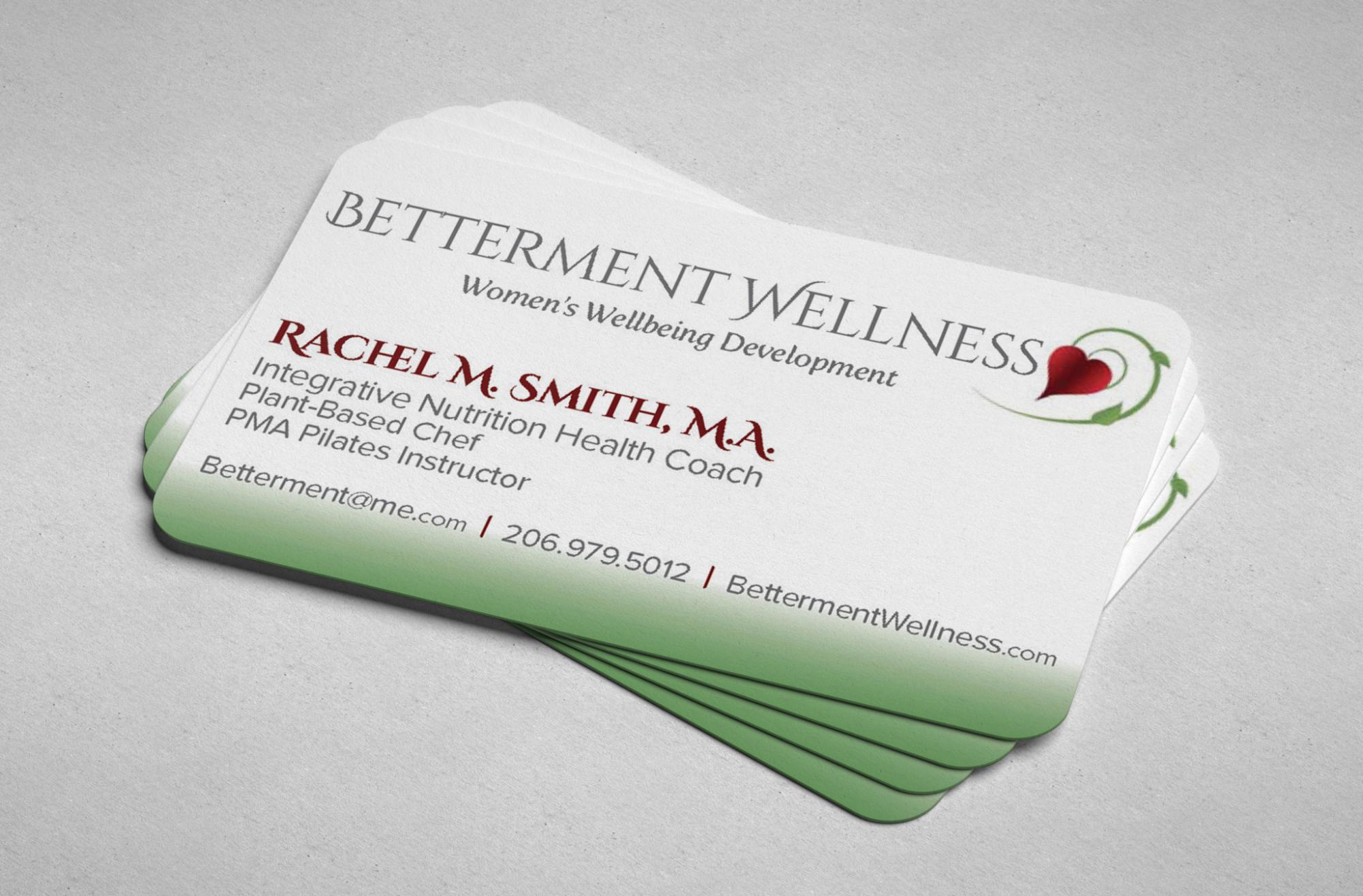 BLOSSOM | Betterment Wellness Business Cards