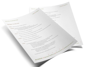 Retreat Management List