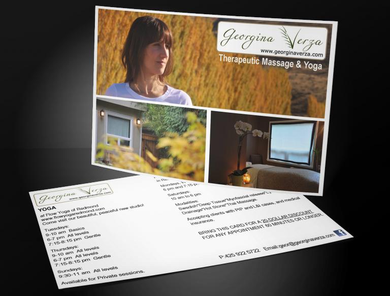 Georgina Verza Postcard