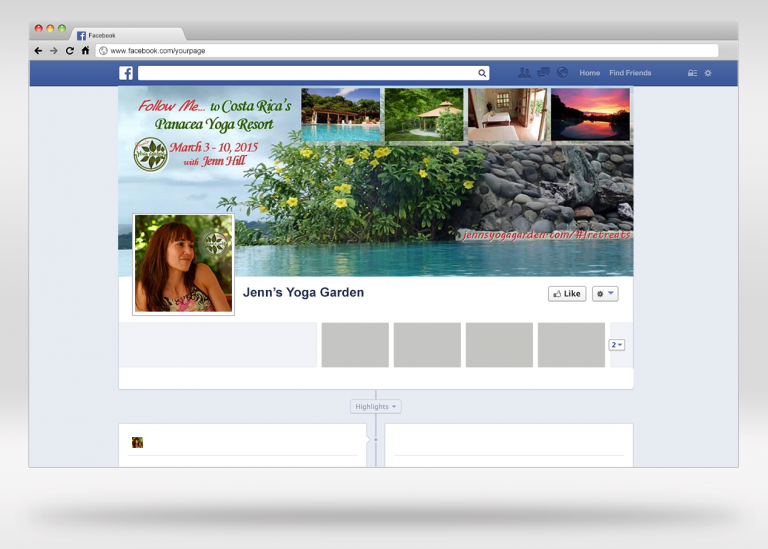 Jenn's Yoga Garden Facebook Page