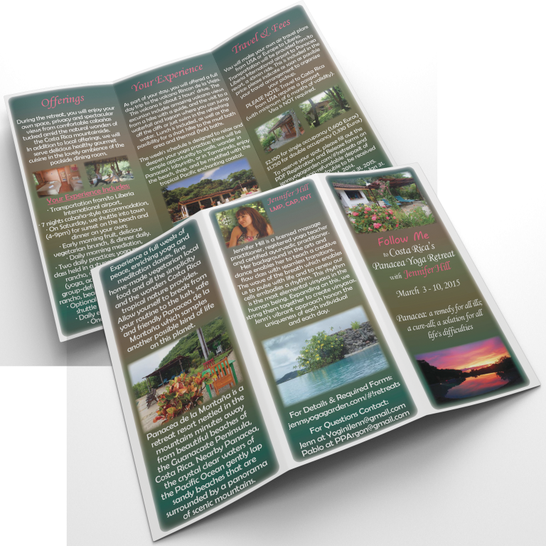 Jenn Hill Retreat Brochure