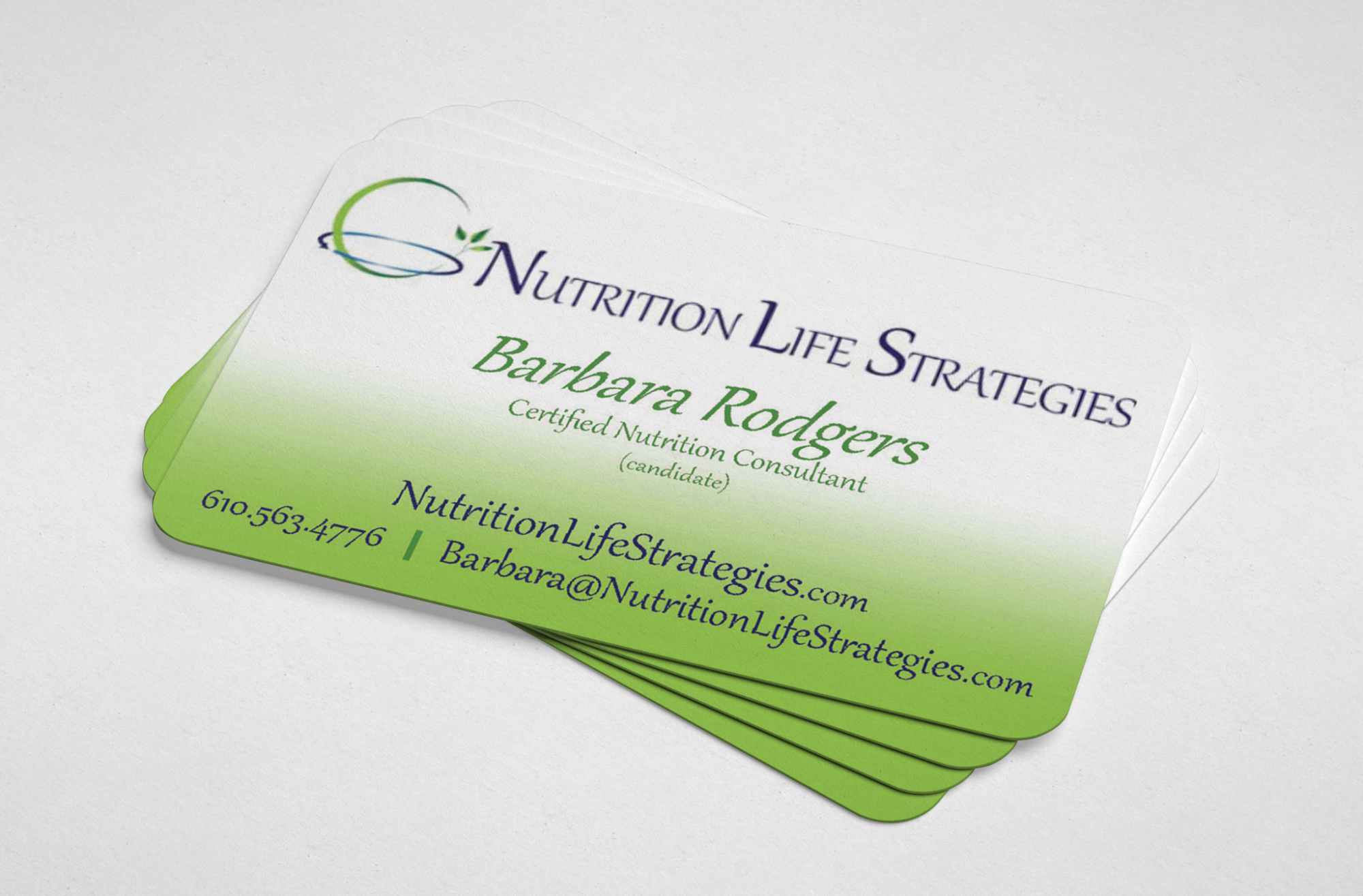 blossom nutrition life strategies business card