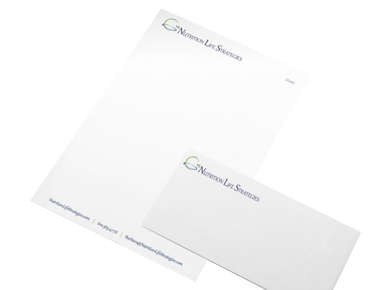 Nutrition Life Strategies Letterhead