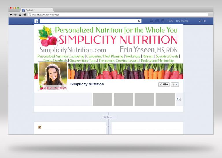 Simplicity Nutrition Facebook Page