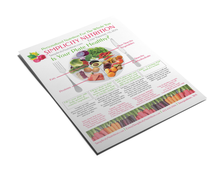 Simplicity Nutrition Educational Flyer
