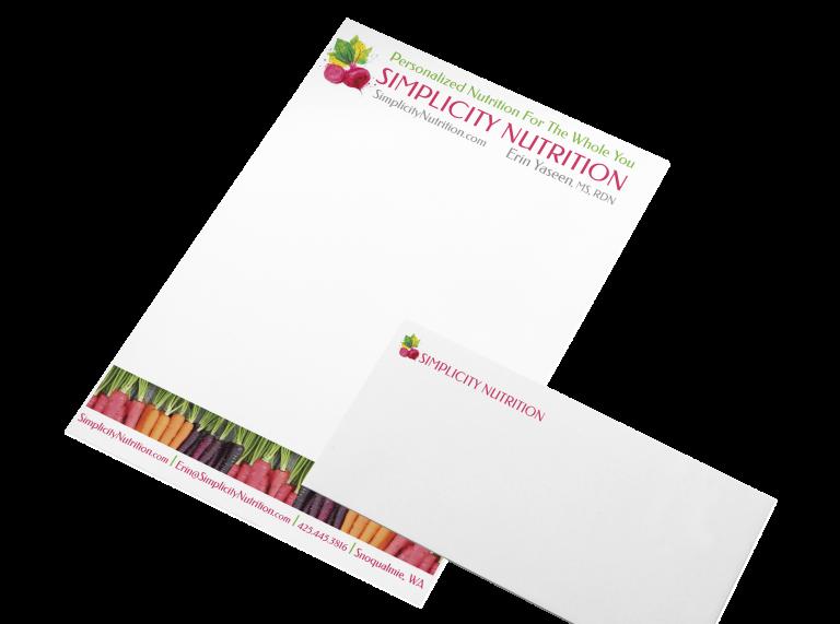 Simplicity Nutrition Letterhead