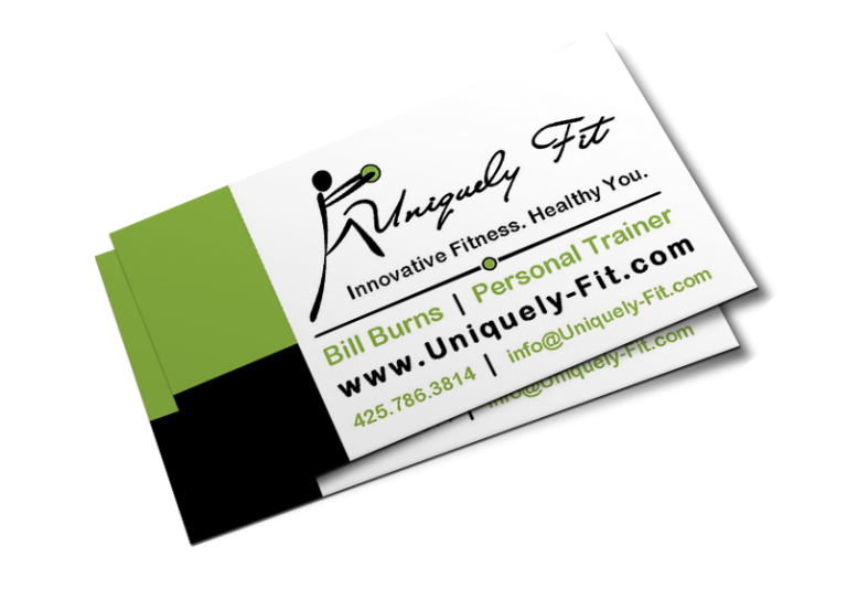 Uniquely Fit Business Card