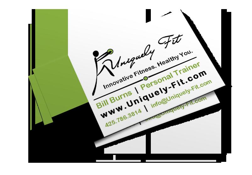Uniquely Fit Business Card