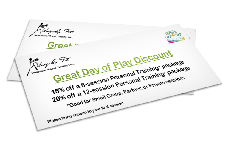 Uniquely Fit Promo Certificate