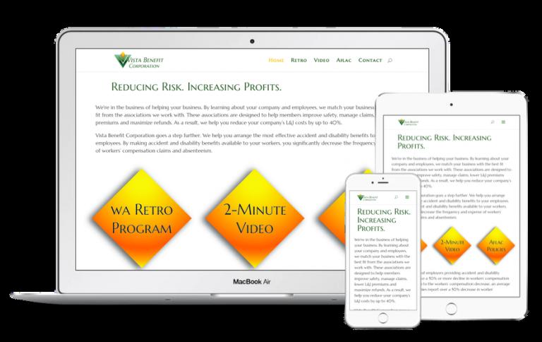 Vista Benefit Corporation Website