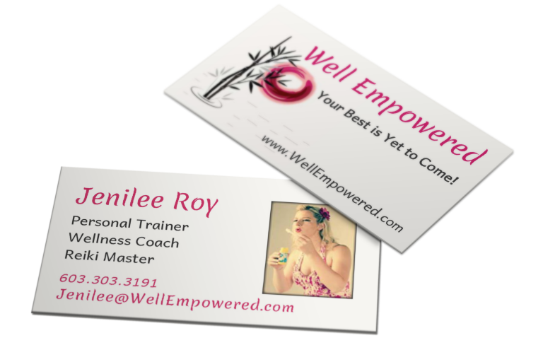 Well Empowered Business Card