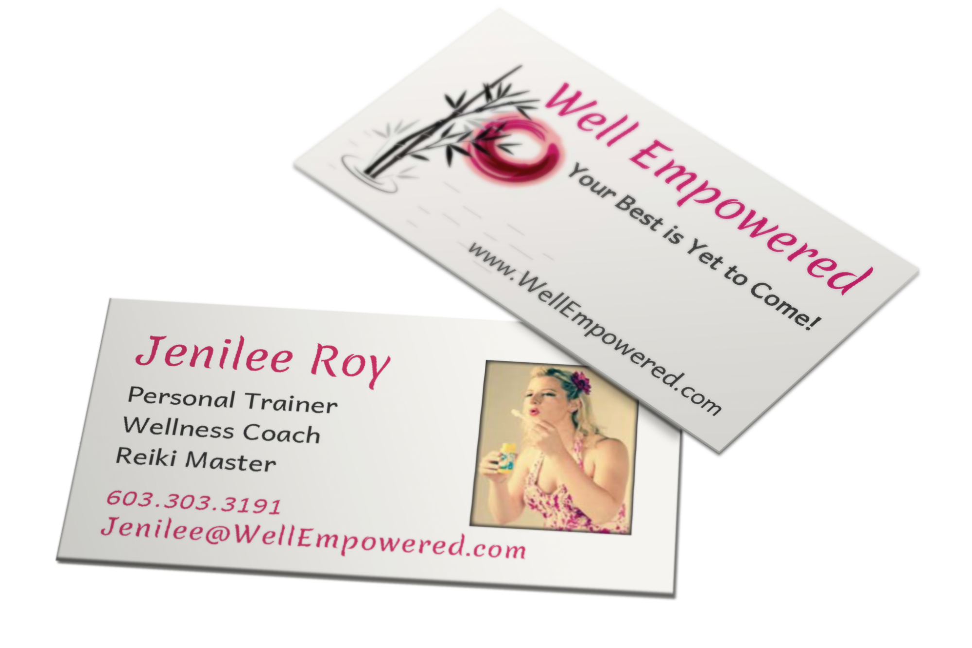 BLOSSOM | Well Empowered Business Card