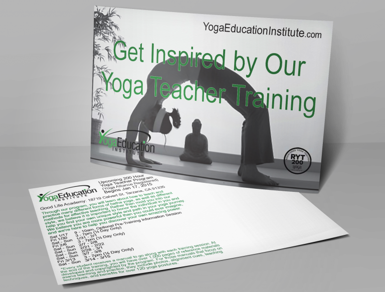 Yoga Education Institute Postcard