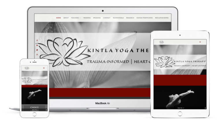 Kintla Yoga Therapy® Website