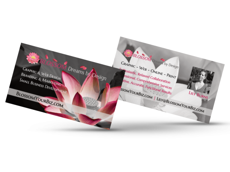 BLOSSOM Business Cards