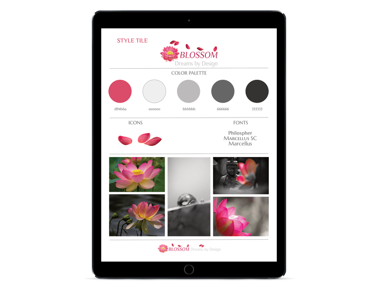 BLOSSOM Dreams by Design Style File