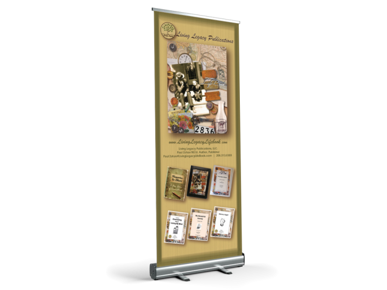 Living Legacy Retractable Banner