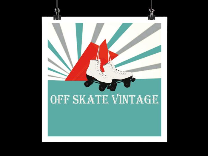 Off Skate Vintage Logo