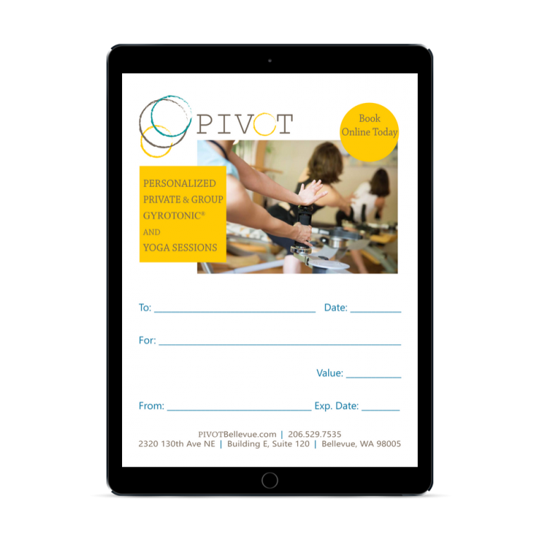 PIVOT Online Gift Certificate