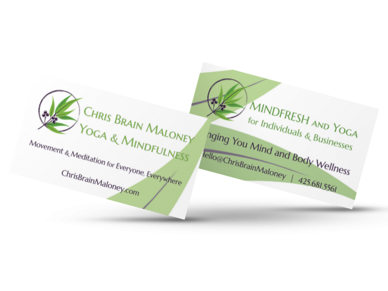 Chris Brain Maloney Business Cards