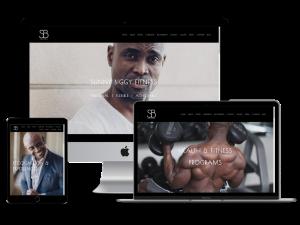 Sunny Biggy Fitness Website